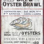 Tidewater Inn's Brew & Oyster Brawl scheduled for November 9th