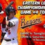 Thunder steal 2-1 decision from Baysox, championship hunt continues tonight at 7:05pm in Bowie