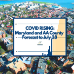 COVID RISING: Forecast for MD and AA County