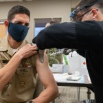 Naval Academy has begun vaccinating faculty and staff