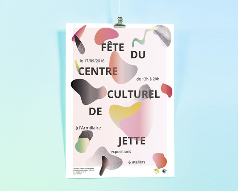 cultural center poster