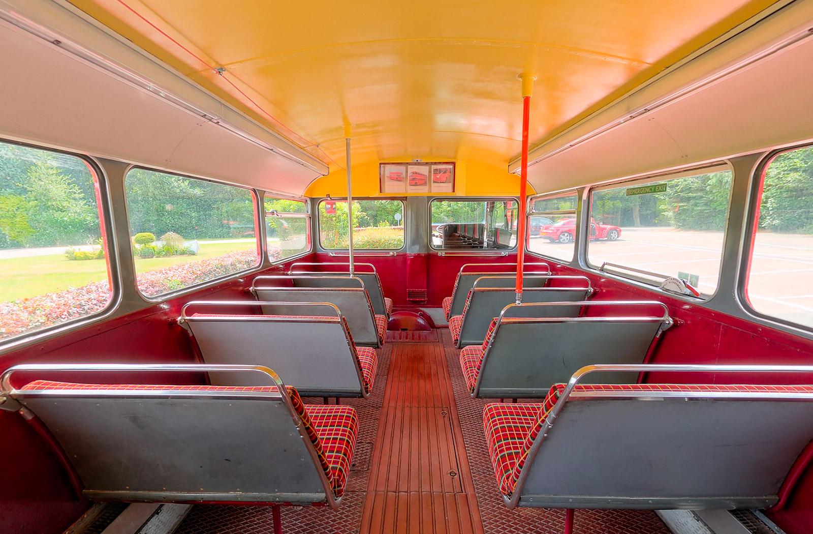 Routemaster Bus 360 Virtual Tour