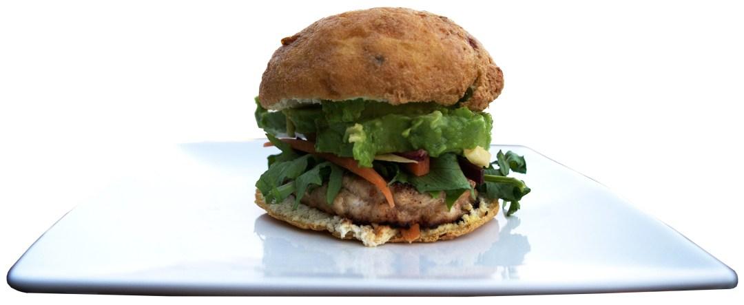 low carb hamburger