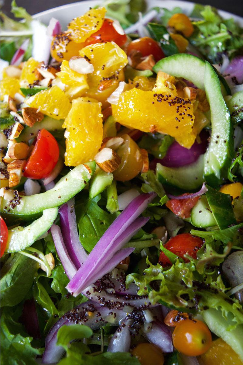 Town, Kaimuki, big salad