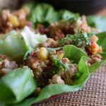lettuce wrap with chicken