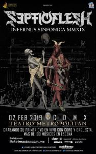 Septicflesh @ Teatro Metropolitan