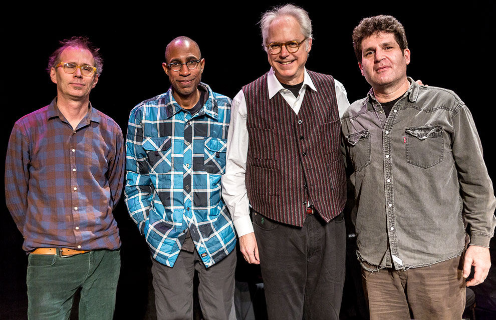 Seattle Photographer Daniel Sheehan shoots jazz musician  Bill Frisell performing The Great Flood in Seattle