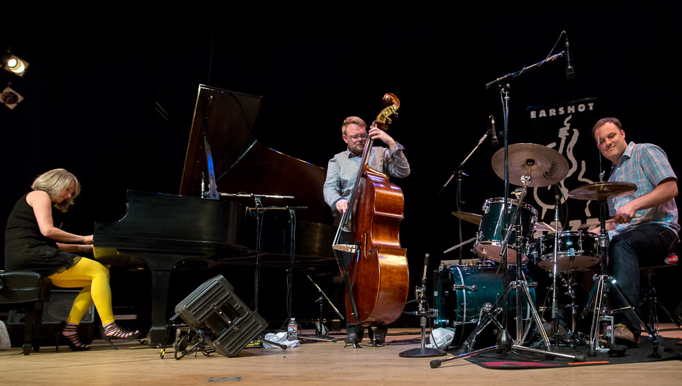 Jazz photos of the Icelandic trio Sunna Gunnlaugs Trio