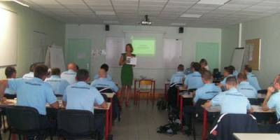 22.09.2011 Training course for French gendarmes on animal welfare during transport