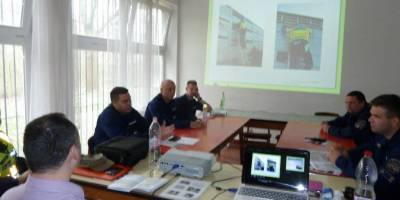 30.03.2015 Training of Hungarian highway police