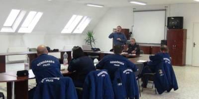 10.12.2015 Police training course in Nagylak, Hungary