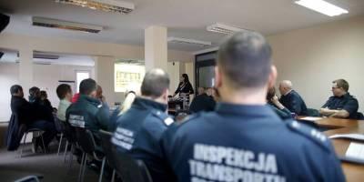 14.11.2016 Training of road police (ITD) in  Olsztyn, Poland – Theory