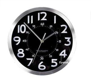 Hidden Spy Camera Video Recorder Wall Clock-2481