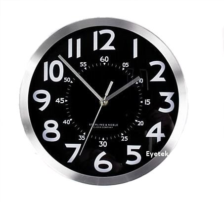 Hidden Spy Camera Video Recorder Wall Clock-2481