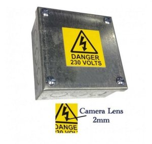 Junction Box Concealed Surveillance Camera Video Recorder-2562