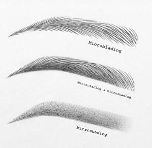 Difference in Powder Vs microblading