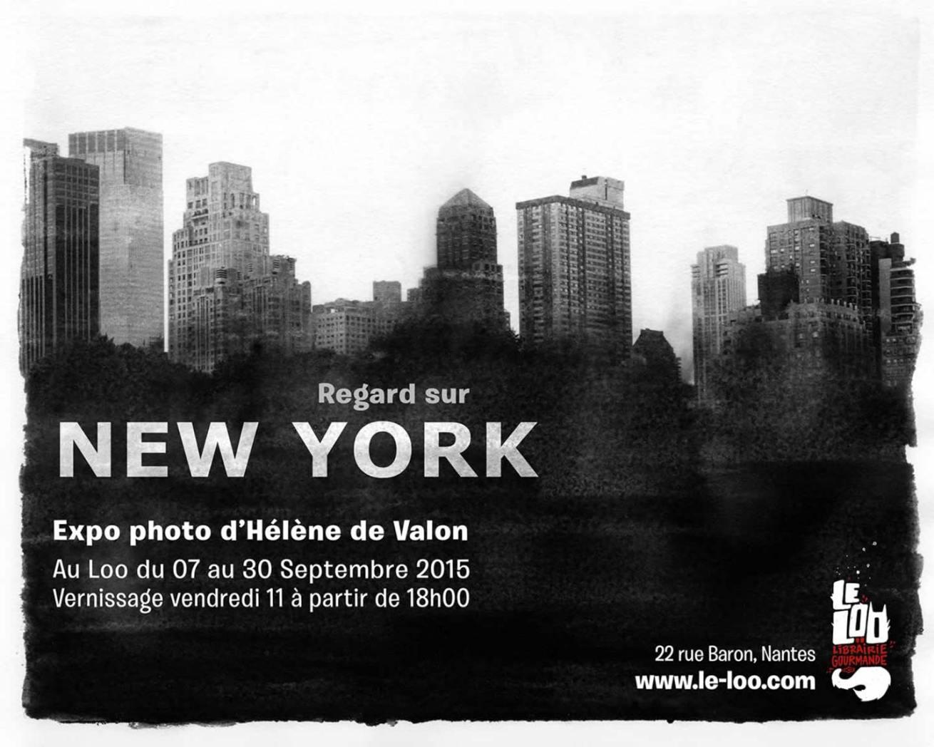 Helene de Valon exhibition, Regard sur New York