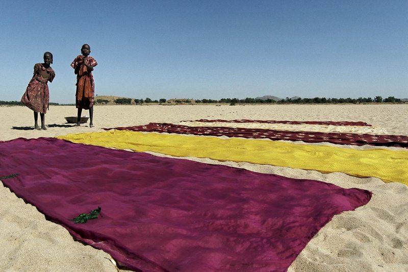 Darfur (دار فور): Morany IDP camp view from the djebel