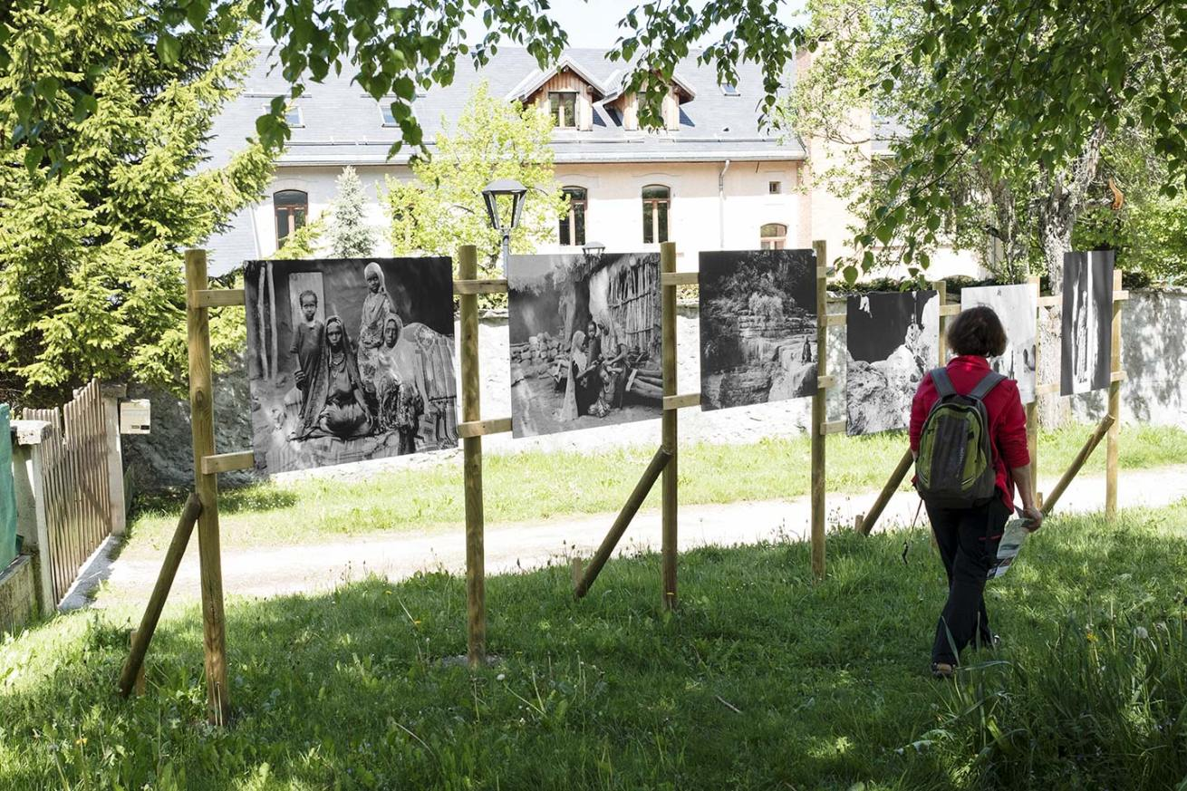 """Exhibition """"Cult of the holy Saints"""" ongoing (Focales en Vercors 2017)"""