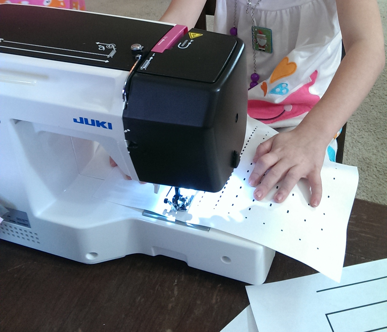 Little Seamstress Sewing Machine Printable Lesson Sheets