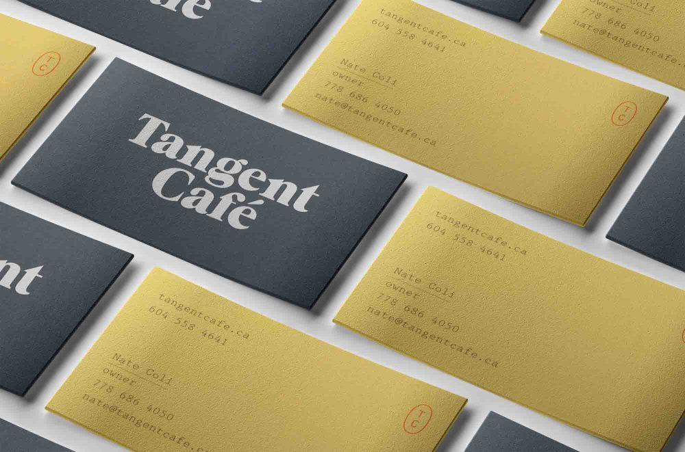 Flat Business Cards Mockups
