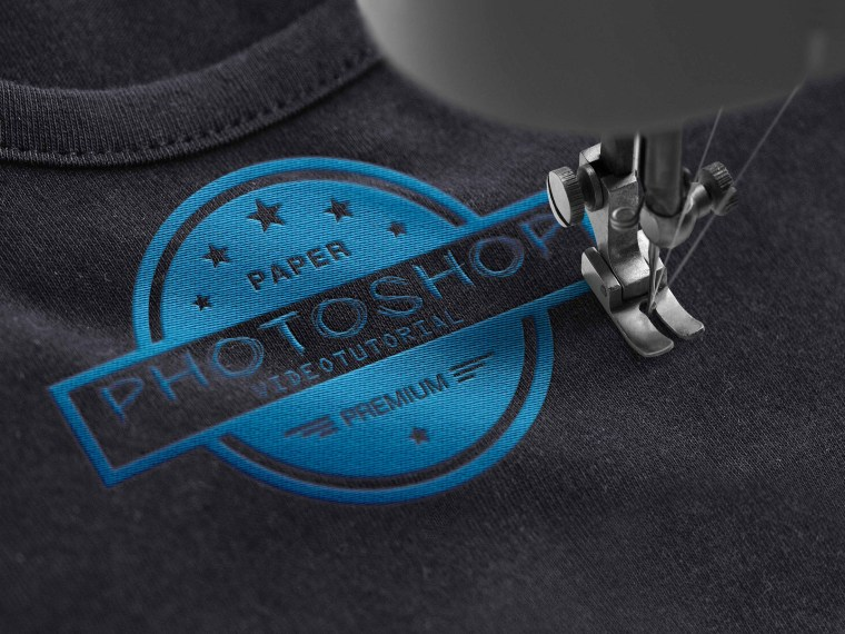 Beautiful Tshirt Logo Mockup
