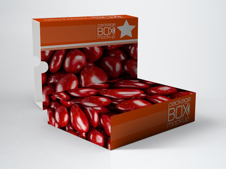 Sweet Box Design Mockup