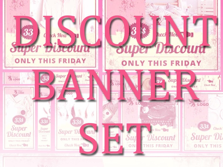 Discount E-commerce Banner Pack