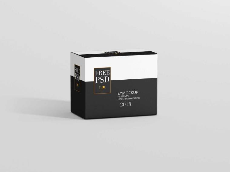 New Box Packaging Label Presentation