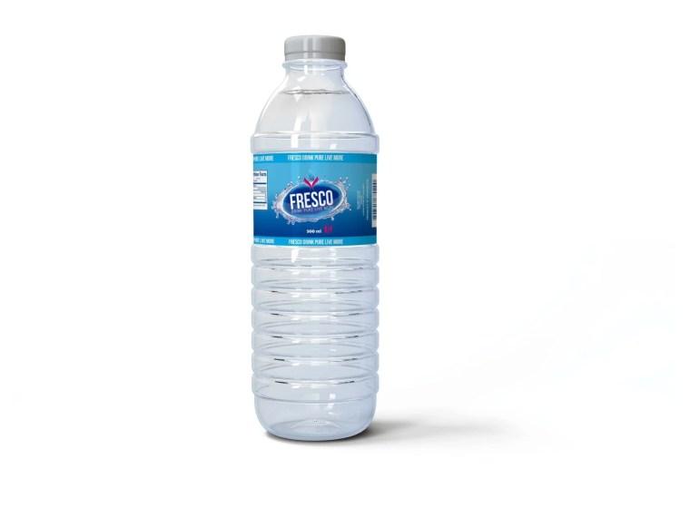 Besleri Bottle Label Mockup