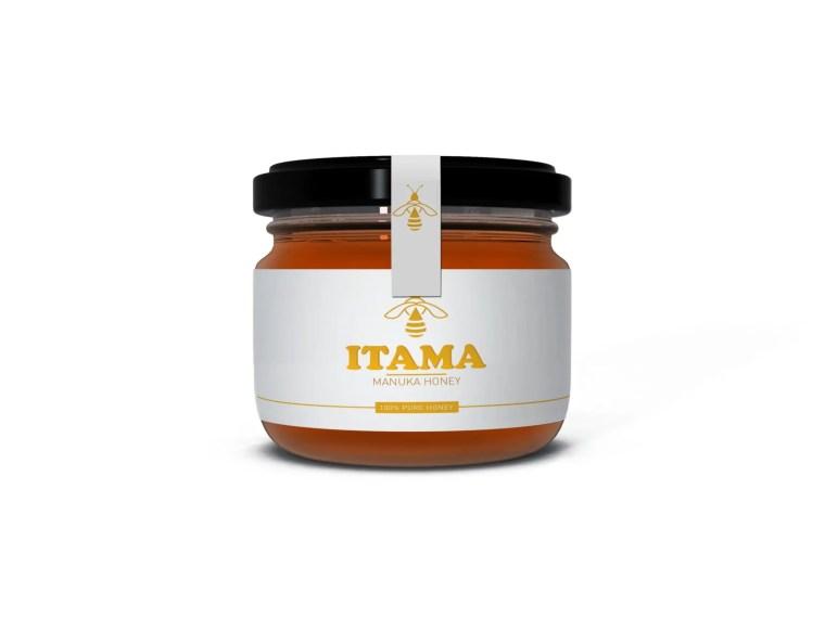 Big Honey Jar Bottle Label Mockup