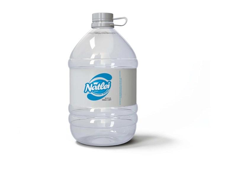 Sunny River Water Bottle Mockup