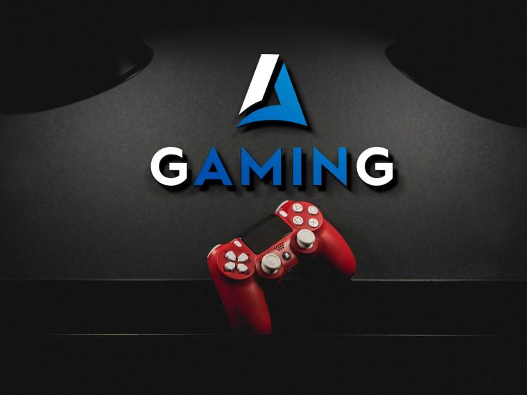 Dark Gaming Logo Mockup 2019