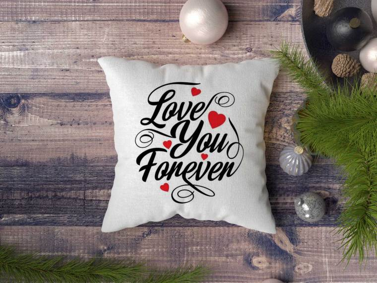 New Season Pillow Cover Design Mockup