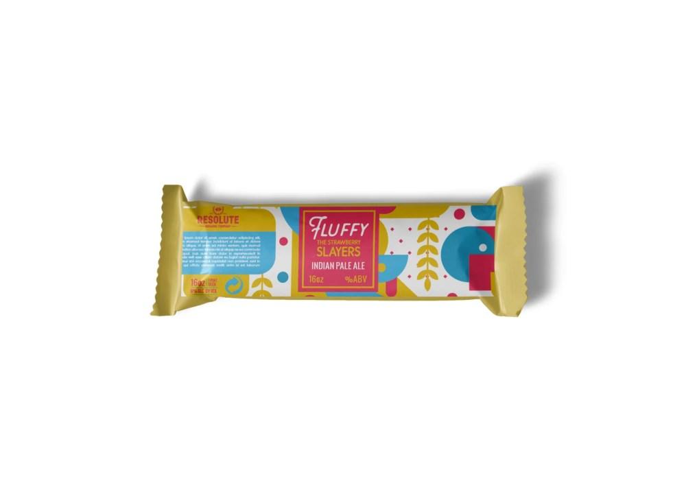 Baby Chocolate Packaging Design Mockup