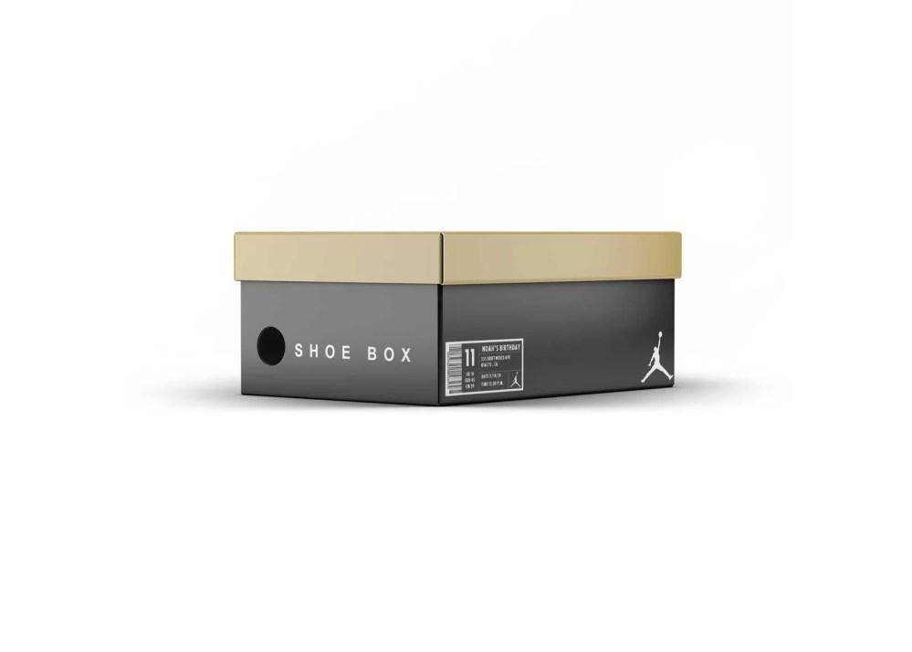 Premium Shoes Box Mockup