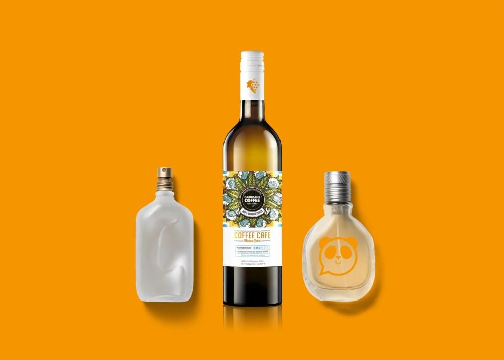 Royal Stack Wine Bottle Label Mockups