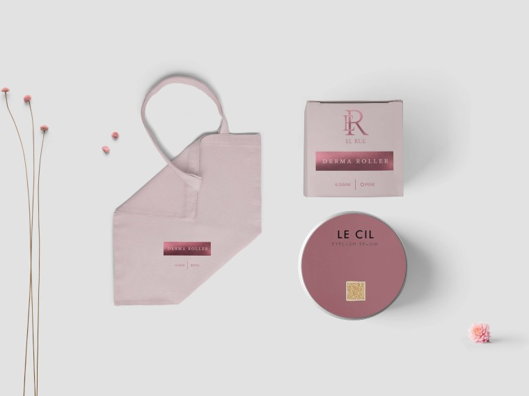 Cosmetic Small Cream Packaging Mockup
