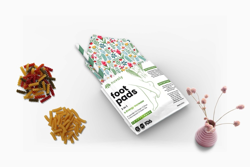 Kraft Paper Pouch Label Mockup