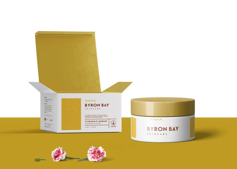 Box Cream Packaging Mockup