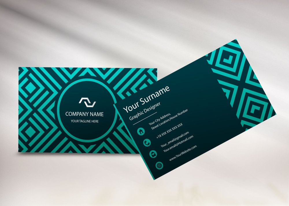 New Business Card Mockups