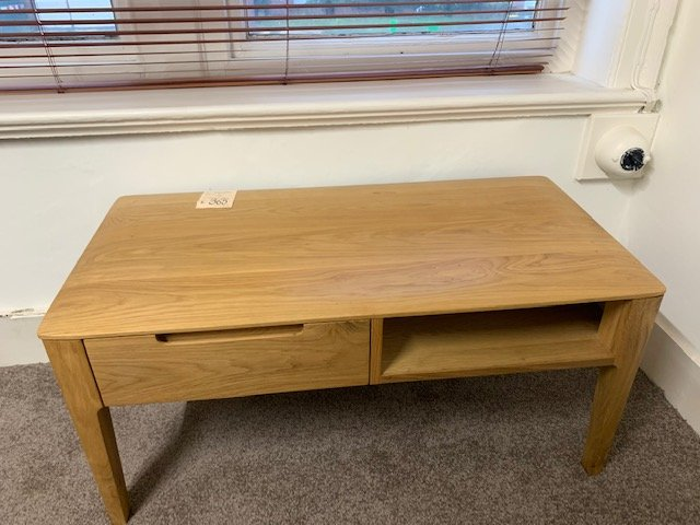 focus coffee table with drawer