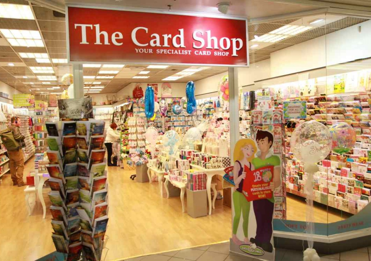 The Card Shop Eyre Square Centre