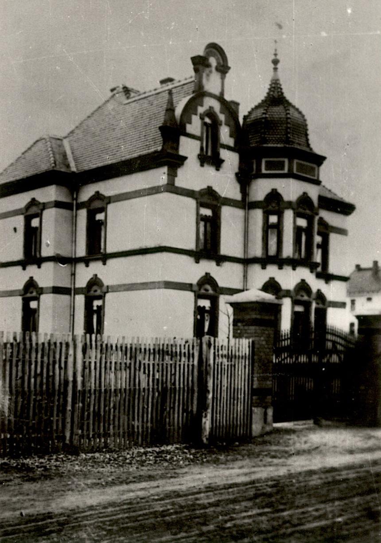 1910 Villa Krausch in der Neuhofer Straße