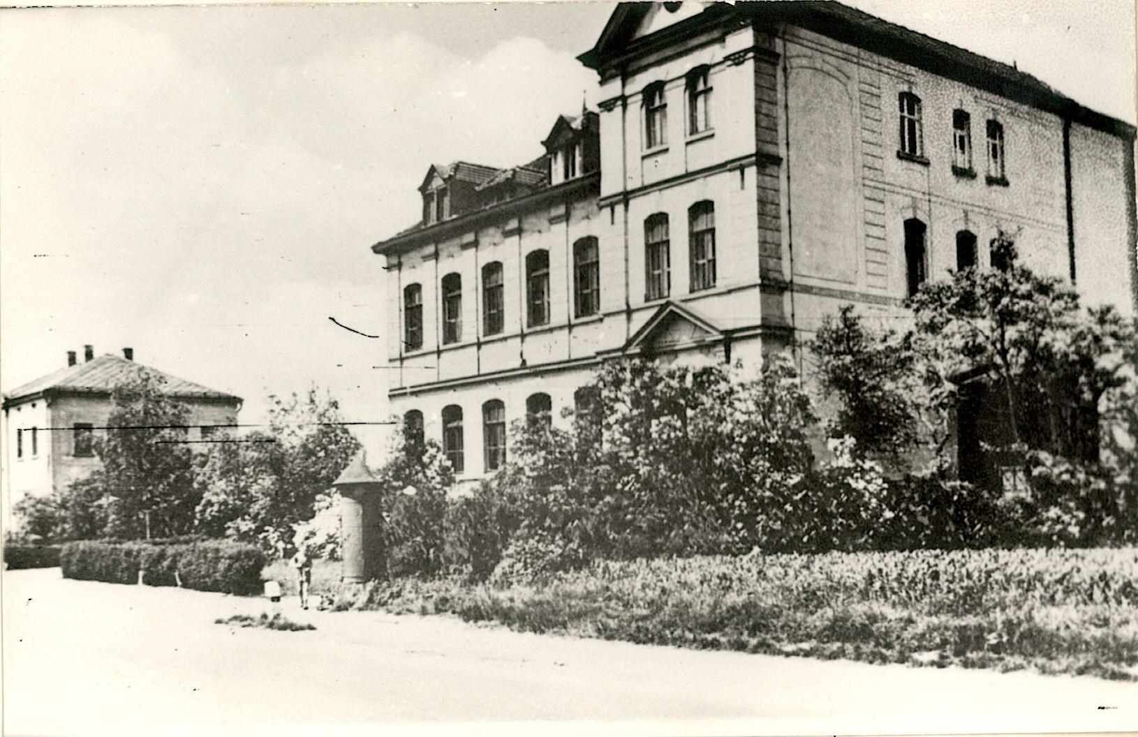 1960-Postkarte Schule