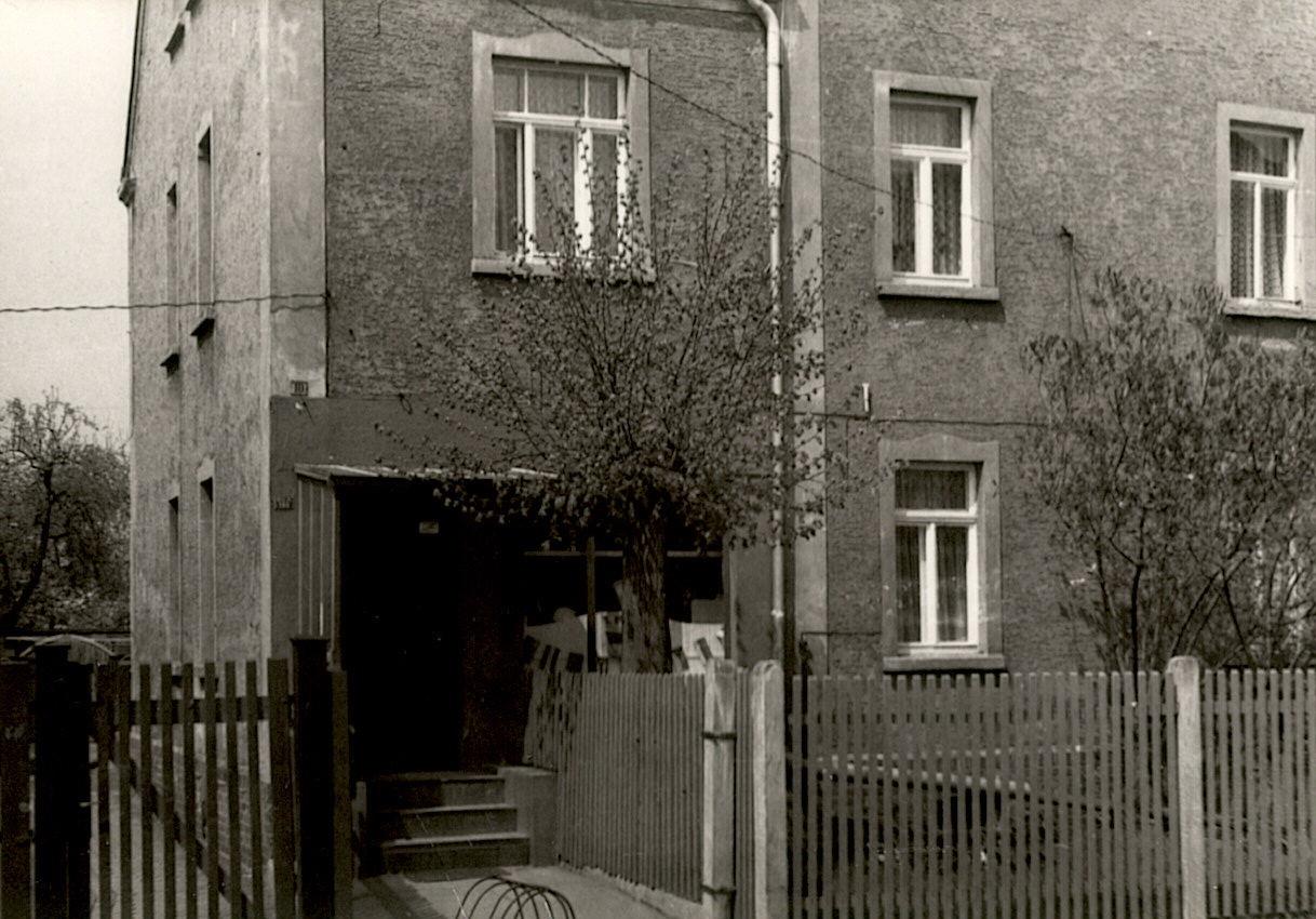 1983 Fleischer in der Zitzschner Straße