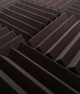 12 Pack of (12x12x2) Inch Acoustical Wedge Foam Panels for Sound Studio Home Theater Soundproofing - Charcoal Grey