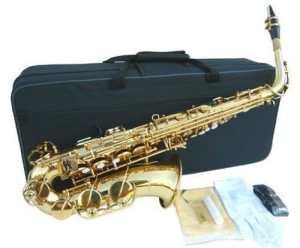Anaxa Brass Alto Saxophone Sax wcase-Approved+Warranty