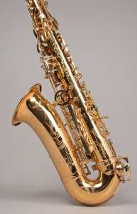 Tempest Alto Saxophone - Professional, Heavy Weight, Engraved, Gold Lacquer, Copper, Tone Boosters, Italian Pads, Case, Mouthpiece + 5-year warranty