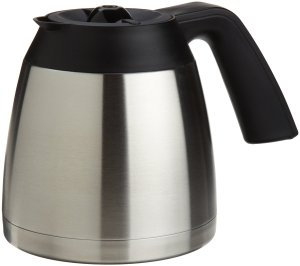 Capresso 10-Cup Stainless Steel Thermal Carafe with Lid for MT600 Coffee Maker